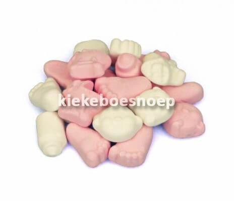 Geboorte schuim roze (250 gram)