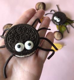 Blog | Oktober 2019 | DIY Gruwelijk lekkere spinnen