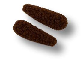 Haarspeldjes teddy bruin