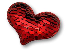 Haarlokspeldje verander hart rood-groen