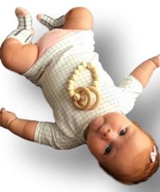 Baby haarspeldje lichtroze