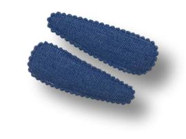 Haarspeldjes denim blauw