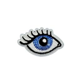 Strijkapplicatie oog | 5 x 3,5 cm