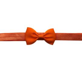 Baby haarbandje oranje