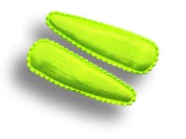 Haarspeldjes neon groen