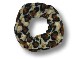 Scrunchie velvet panter
