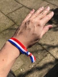 Ibiza-elastiekje rood-wit-blauw | Koningsdag