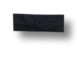 Haarband groot zwart