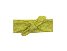 Haarband zelf knopen citroenen