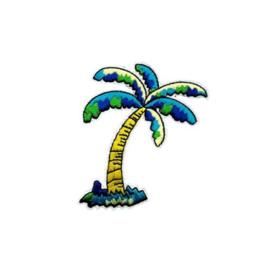 Strijkapplicatie palmboom | 5,5 x 7,5 cm