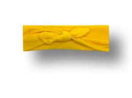 Haarband groot geel