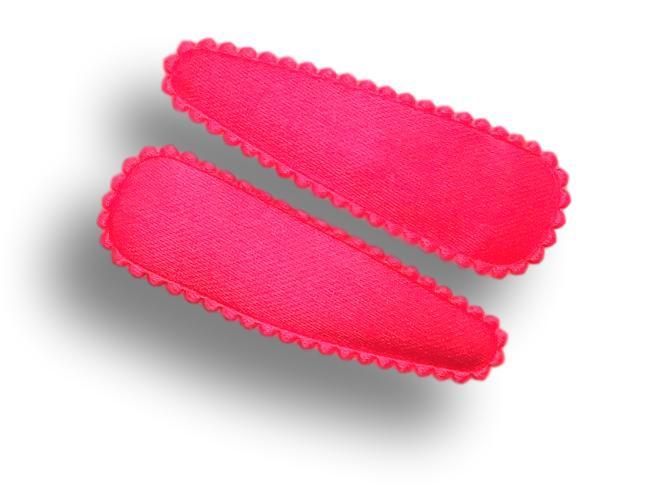Haarspeldjes neon roze