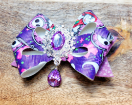Haarspeld halloween paars