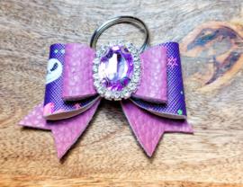 Sleutelhanger halloween paars