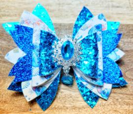 Haarspeld blauw