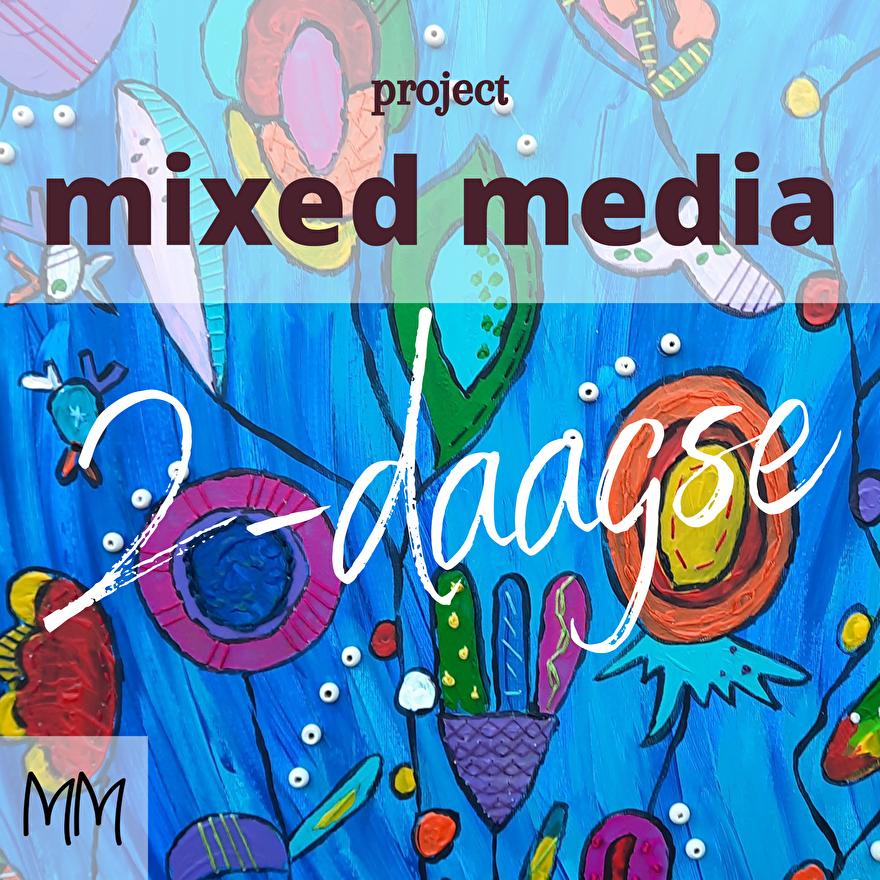mixed media 2-daagse