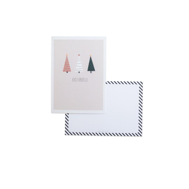 Kerstknuffels || A6 Kaart