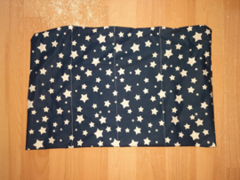 Verzwaringskussen 2kg blauw wisselende ster
