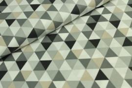 Geo zwart grijs