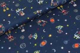 astronaut donder blauw