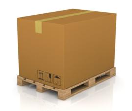 PRE-ORDER Palletdoos 40x140cm (20 stuks B2B prijs)