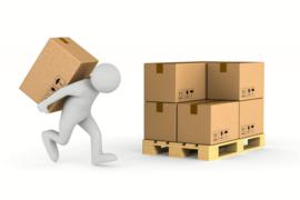 PRE-ORDER MIX Pallet - 4 dozen 40x40cm (120 stuks) en 4 dozen 45x45cm (80 stuks)