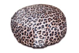 Leopard meditatiekussenhoes