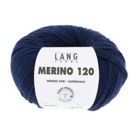 Merino 120 34.0035 Navy