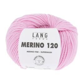 Merino 120 34.009 Zacht Roze