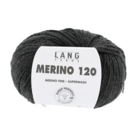 Merino 120 34.0005 Antraciet Melange