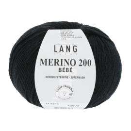 Merino Bebe 71.0304 Zwart