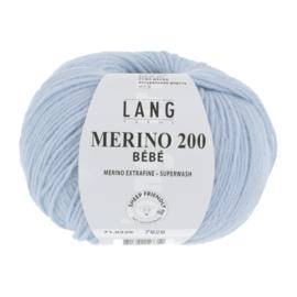 Merino Bebe 71.0320 Licht Blauw