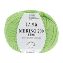 Merino Bebe 71.0316  Pistache groen