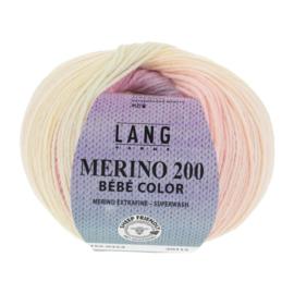 Merino Bebe 155.0354 roze/blauw/geel
