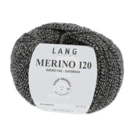 Merino 120 34.0055 Zwart Beige
