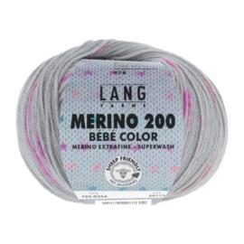 Merino Bebe 155.0356  grijs/multi