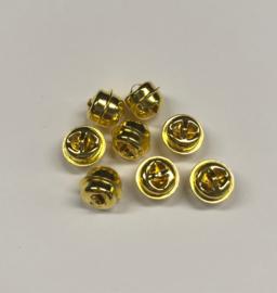 Belletjes  goudkleurig 10 mm