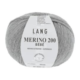 Merino Bebe 71.0303 Licht grijs