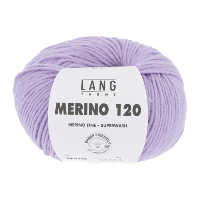 Merino 120 34.0245 Lila