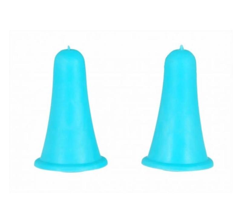 Knitpro Puntbeschermers klein blauw 2 t/m 5 mm