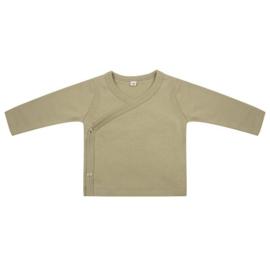 Newborn overslag shirt  lange mouw