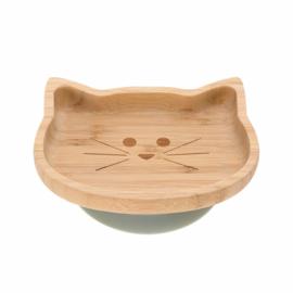 Lassig Bamboo bordje kat met zuignappen