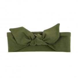 UL&KA khaki groene haarband