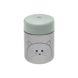 Little Chums cat Food jar