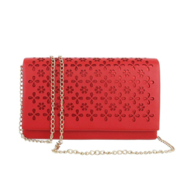 Ivory Clutch red