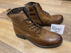JFW Orca leather cognac boots
