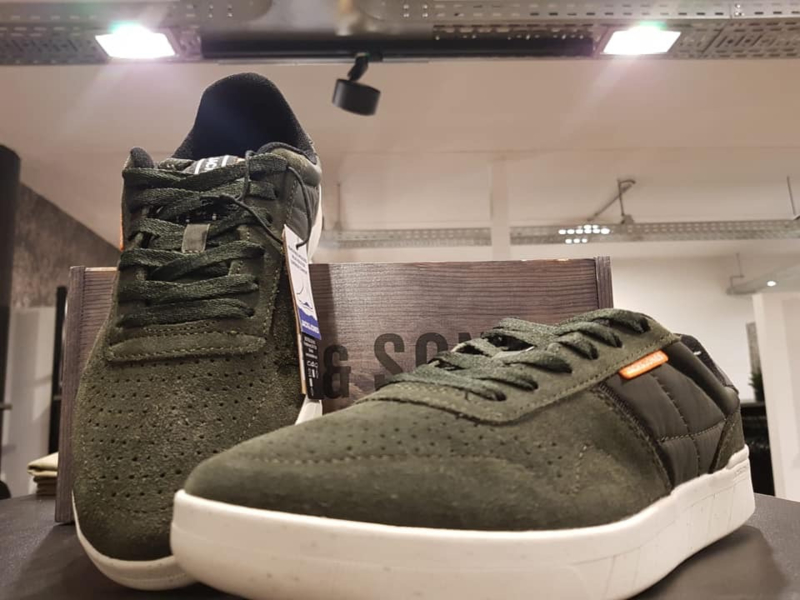 Jfw hunter suede olive night