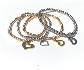 ✿ Edelstalen Armbanden