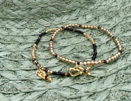 Black & Gold Armbanden