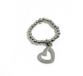 Ring hart 3mm